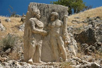 Arsameia, núi Nemrut, Thổ Nhĩ Kỳ