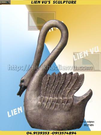 Điêu khắc con hạc